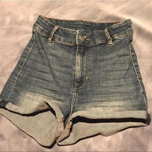 Brand new (no tags) H&M high waisted denim shorts